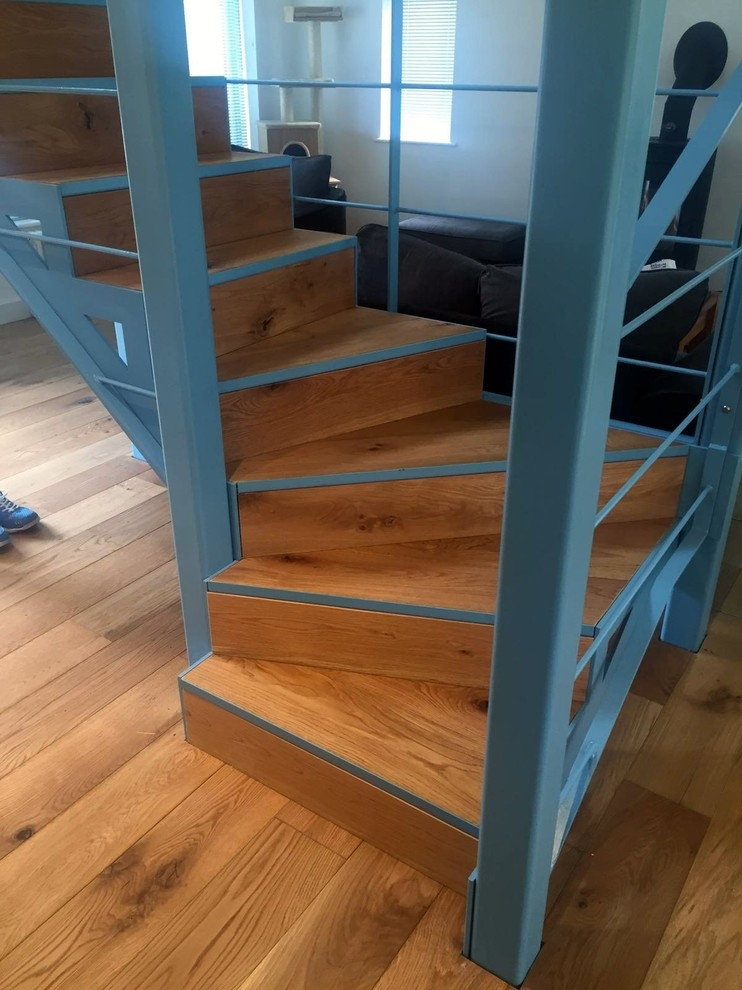 35 Really Cool Space Saving Staircase Designs Digsdigs | Clever Stairs For Small Spaces | Beautiful | Small Home | Compact | Decorative | Small Apartment