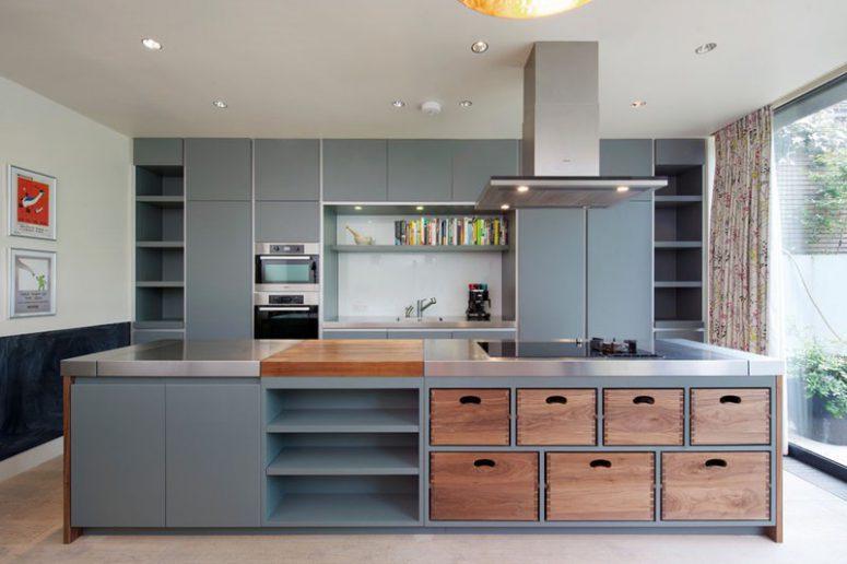 Image Result For White Open Shelving Kitchen