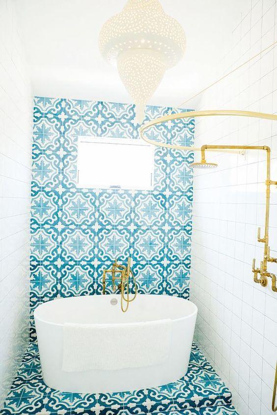97 cool blue bathroom design ideas