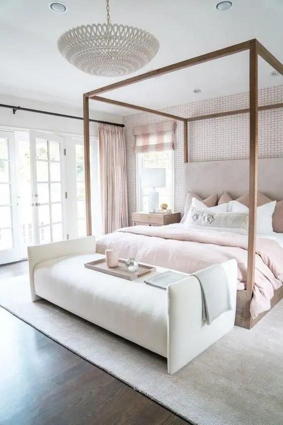 tender feminine bedroom design ideas