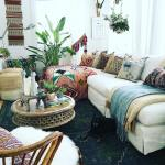 85 Inspiring Bohemian Living Room Designs