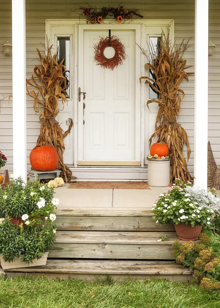 title | Fall Decor On Front Door
