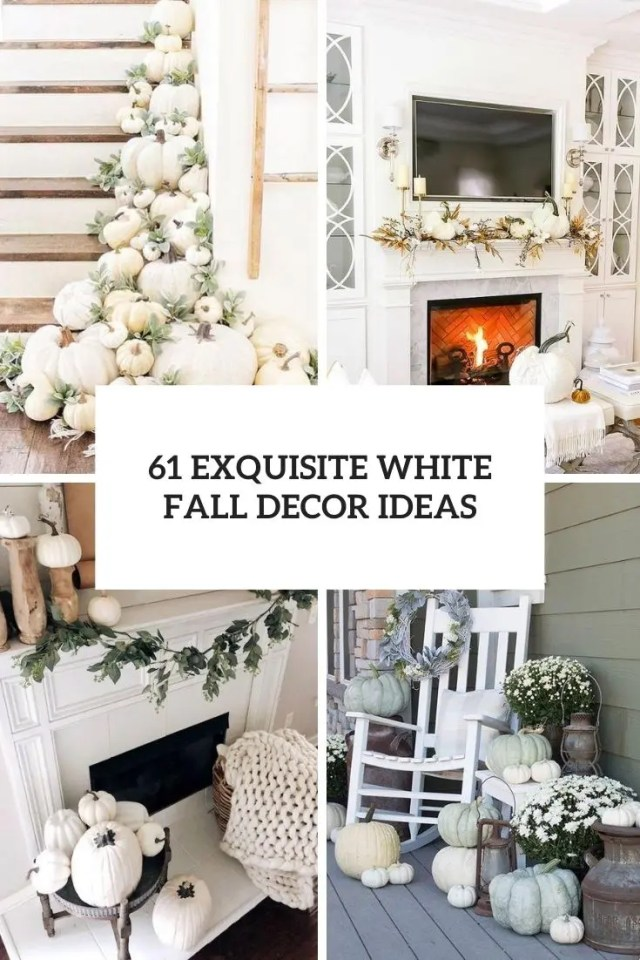 exquisite white fall decor ideas cover