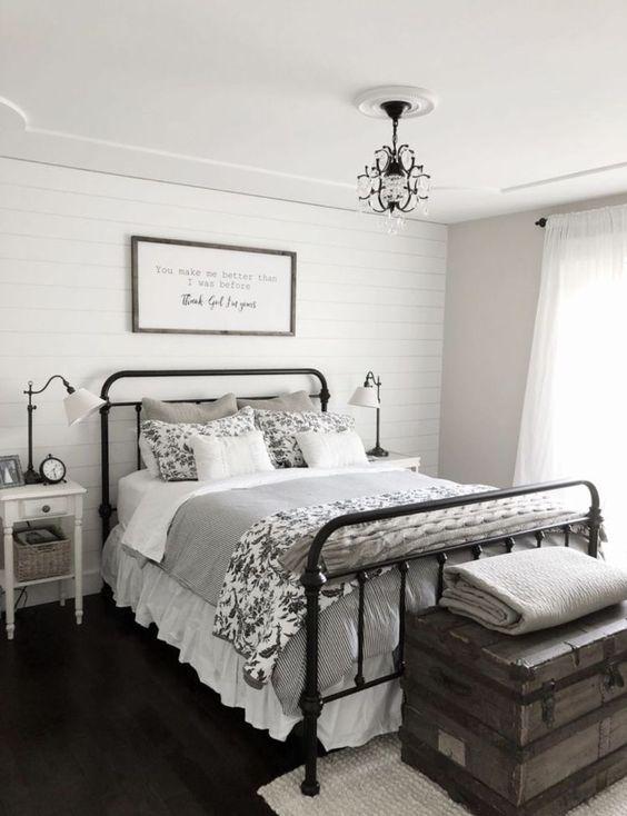 77 Farmhouse Bedroom Design Ideas That Inspire Digsdigs