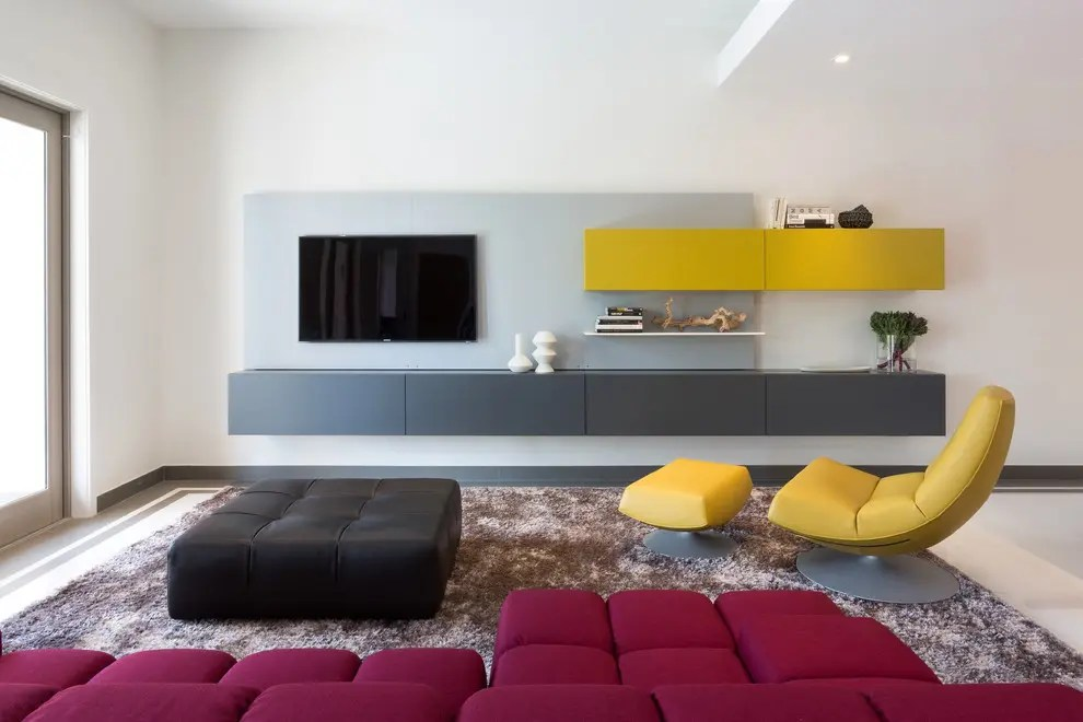 Living Room Decor Yellow