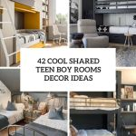 42 Cool Shared Teen Boy Rooms Decor Ideas Digsdigs