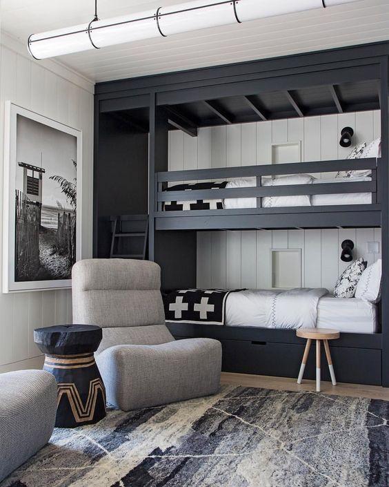 cool shared teen boy rooms decor ideas