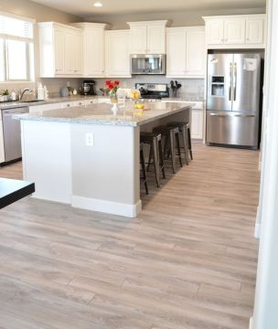 30 Practical And Cool Looking Kitchen Flooring Ideas   DigsDigs kitchen flooring