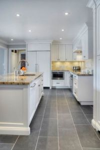 grey kitchen floor tiles   28 images   white cabinets gray subway     Gallery of Grey Kitchen Floor Tiles