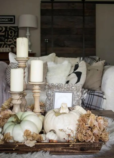 34 Chic Neutral Fall Décor Ideas You'll Like - DigsDigs