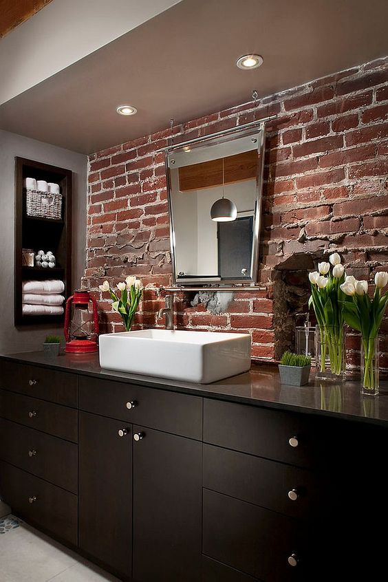 43 Trendy Brick Accent Wall Ideas For Every Room DigsDigs