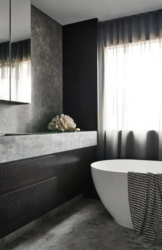 Black And White Bathrooms Houzz