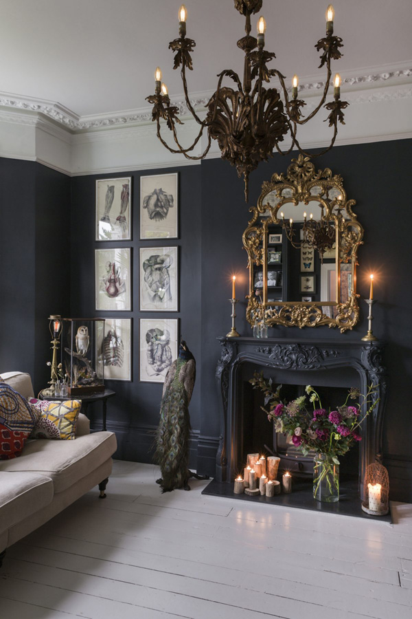 Victorian-Inspired House With A Touch Of Decay - DigsDigs