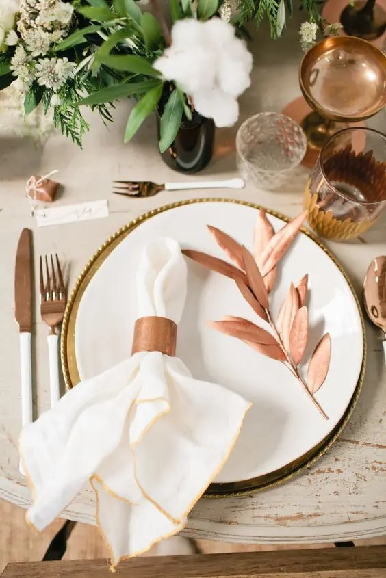 28 Chic Copper Christmas Dcor Ideas DigsDigs