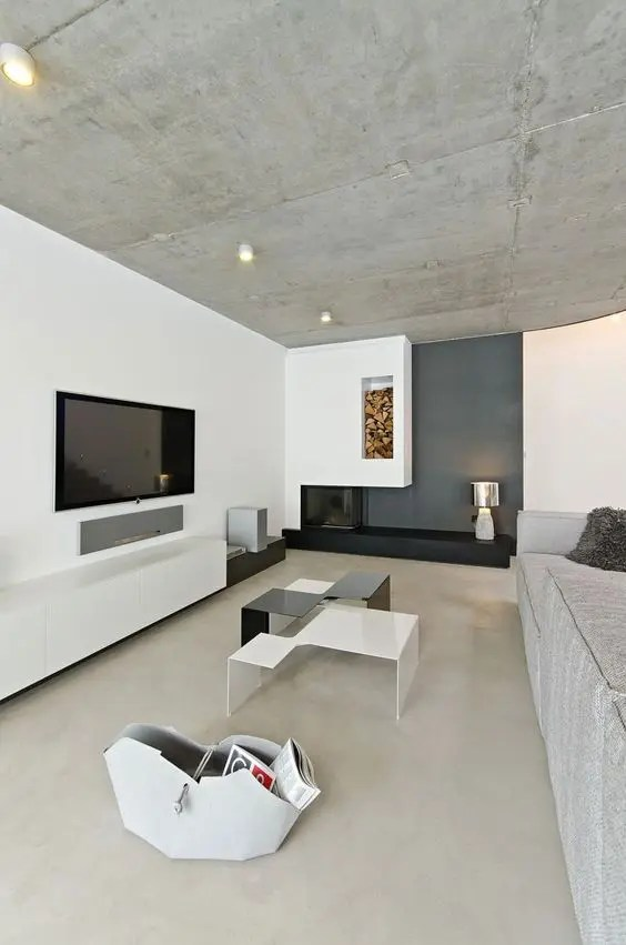 36 Modern And Chic Concrete Home D 233 Cor Ideas Digsdigs