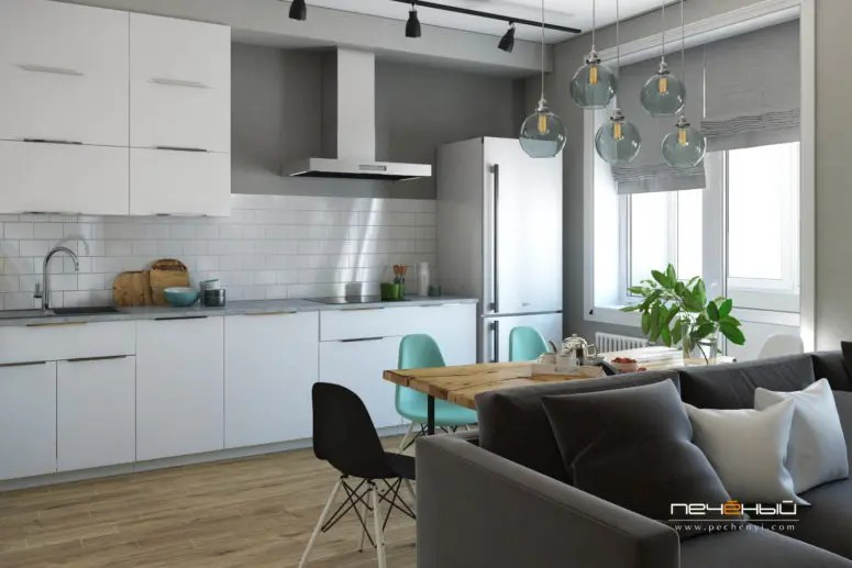 Modern Scandinavian Apartment For A Young Couple Digsdigs