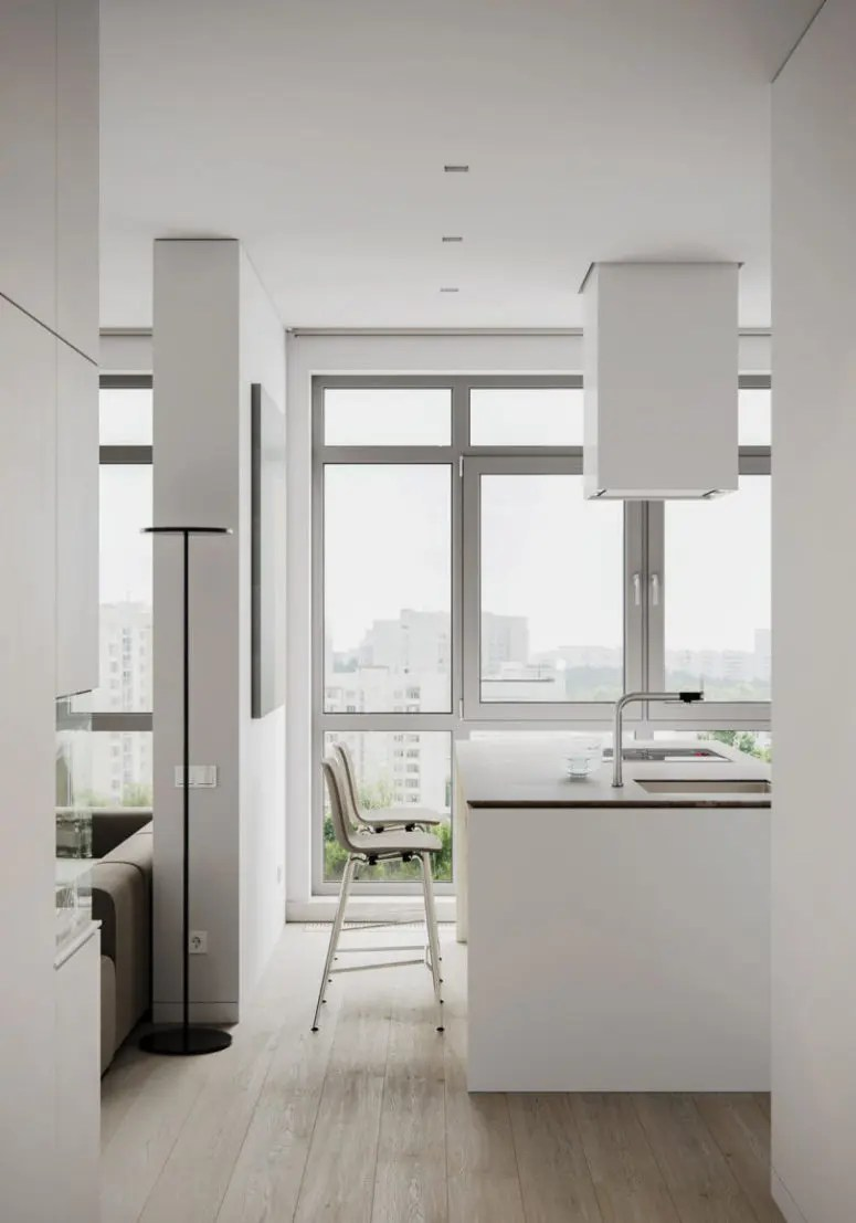 Minimalist Apartment With A Neutral Color Palette DigsDigs