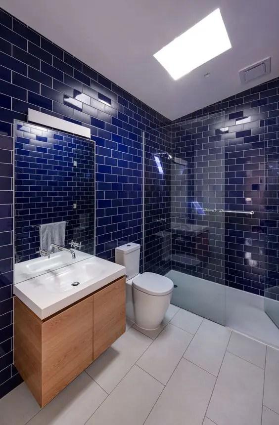 chic glossy tile decor ideas