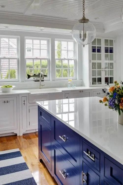 Blue White Kitchen Designs