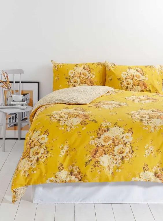 Modern Yellow Kitchen Curtains