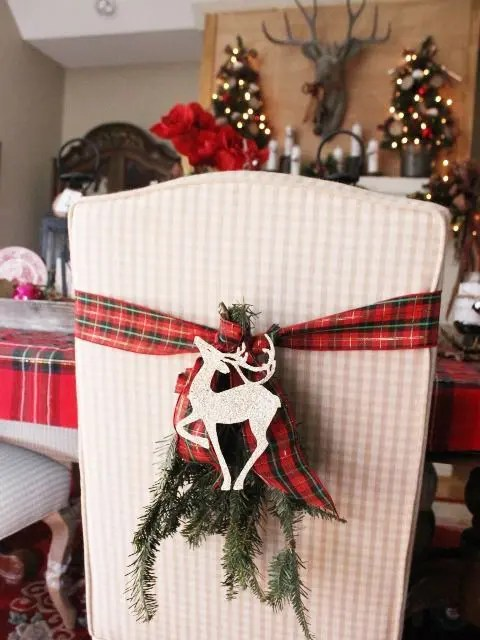 26 Plaid And Tartan Christmas Home Decor Ideas DigsDigs