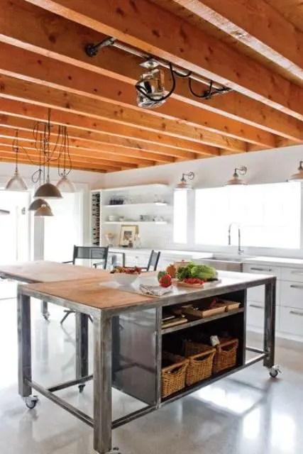 title | Industrial Kitchen Island