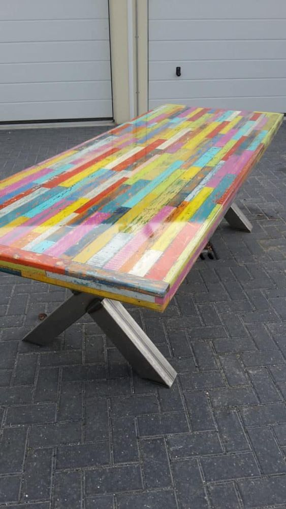 25 pallet dining tables that inspire