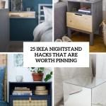 25 Ikea Nightstand Hacks That Are Worth Pinning Digsdigs