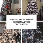 25 Nightmare Before Christmas Tree Decor Ideas Digsdigs