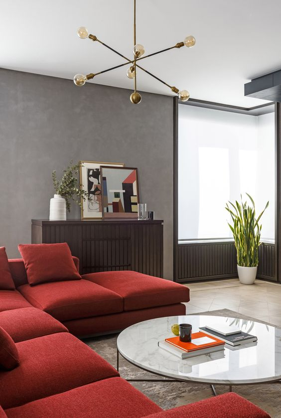 30 Ways To Incorporate A Red Sofa Into Your Interior Digsdigs