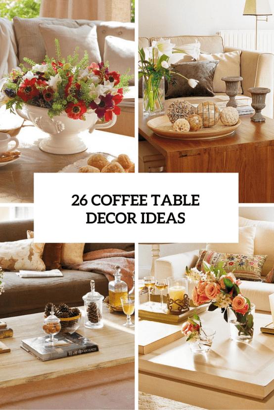 title | Coffee Table Centerpiece