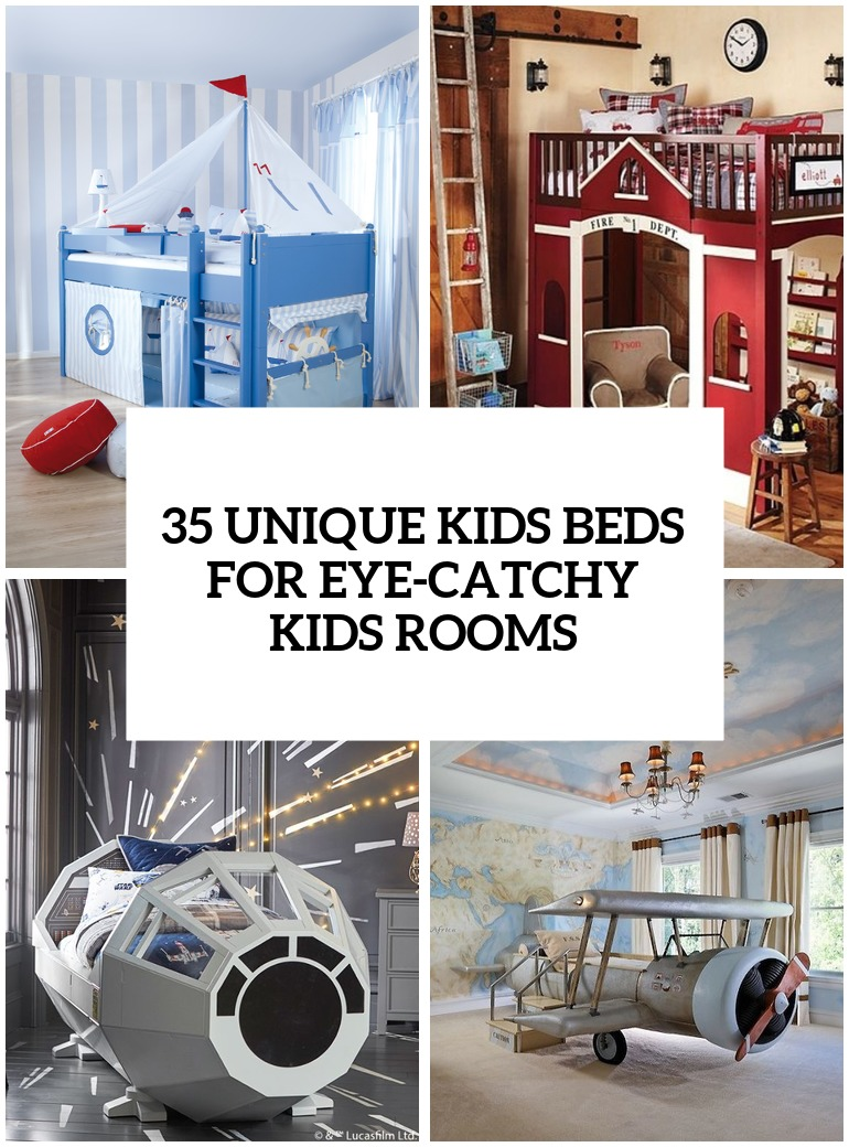 35 Really Unique Kids Beds For Eye Catchy Kids Rooms Digsdigs