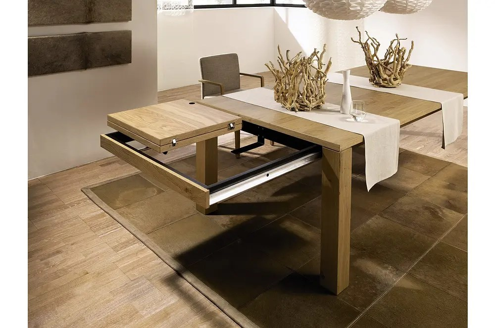 3 New Modern Expandable Dining Tables From Hlsta DigsDigs