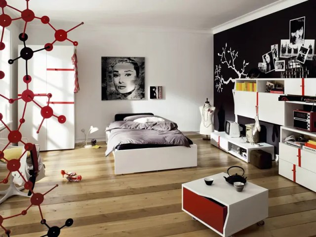 Modern Furniture for Cool Youth Bedroom Design - Namic by ...