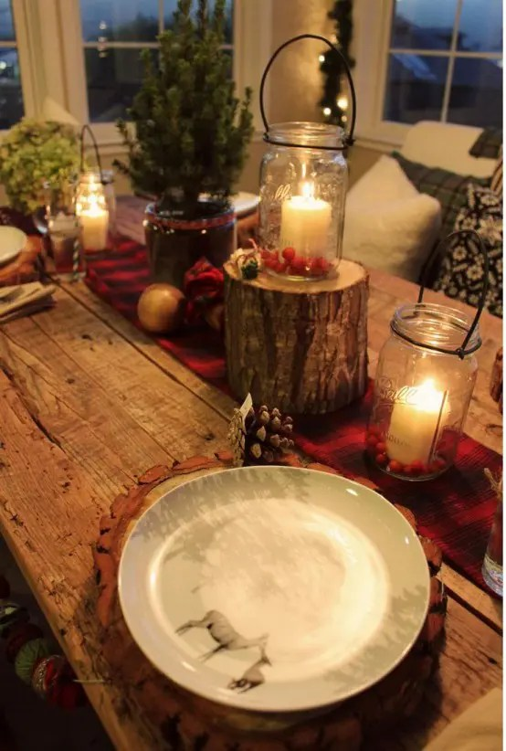 30 Adorable Indoor Rustic Christmas Dcor Ideas DigsDigs