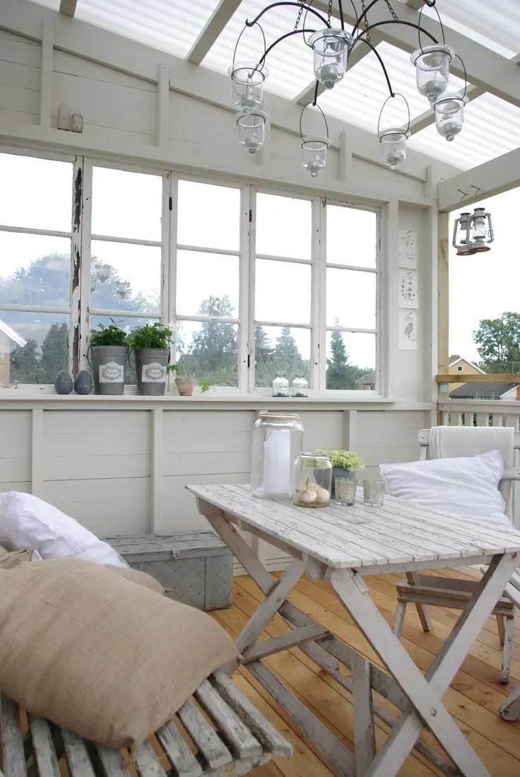 28 Airy Scandinavian Sunroom Designs DigsDigs