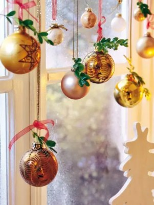 Christmas Decorations Simple Window Decor Hanging Ornaments
