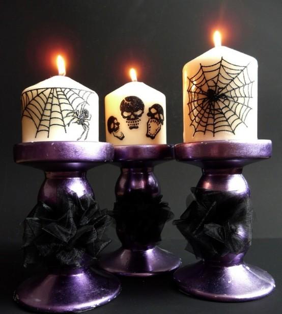 57 Awesome Purple Halloween D 233 Cor Ideas Digsdigs