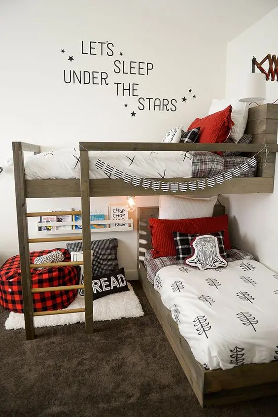 30 Awesome Shared Boys Room Designs To Try Digsdigs