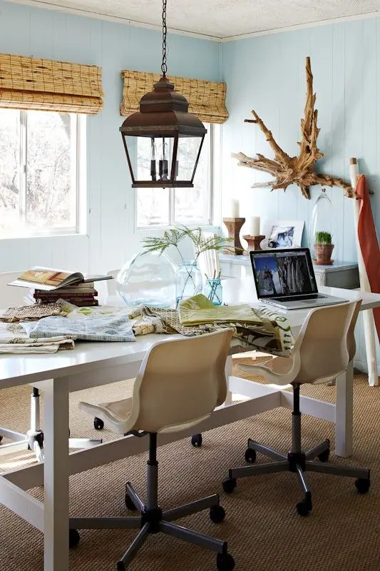 23 Beach Inspired Home Office Designs Digsdigs