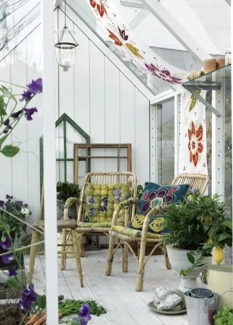 23 Beautiful Boho Sunroom Design Ideas DigsDigs