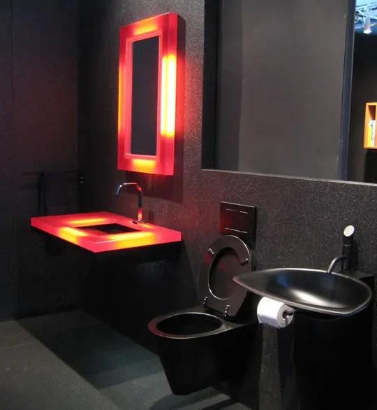 19 Almost Pure Black Bathroom Design Ideas Digsdigs