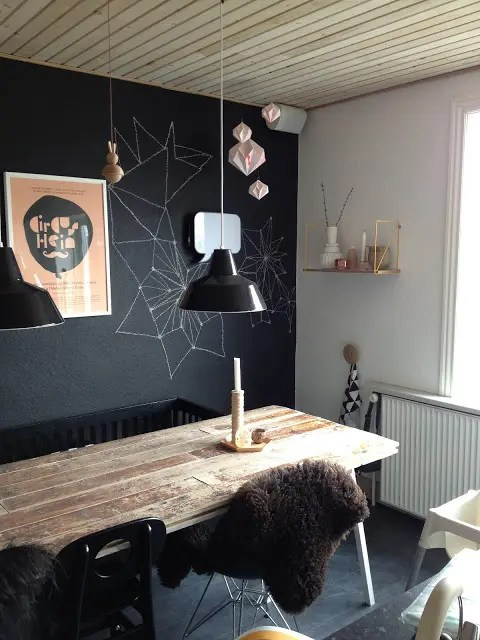 31 Chalkboard Dining Room Dcor Ideas Youll Love DigsDigs