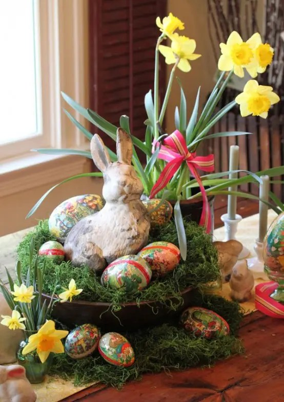 27 Charming Vintage Easter Dcor Ideas DigsDigs