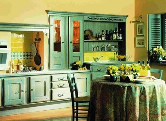 Cheerful Summer Interiors: 50 Green and Yellow Kitchen ...