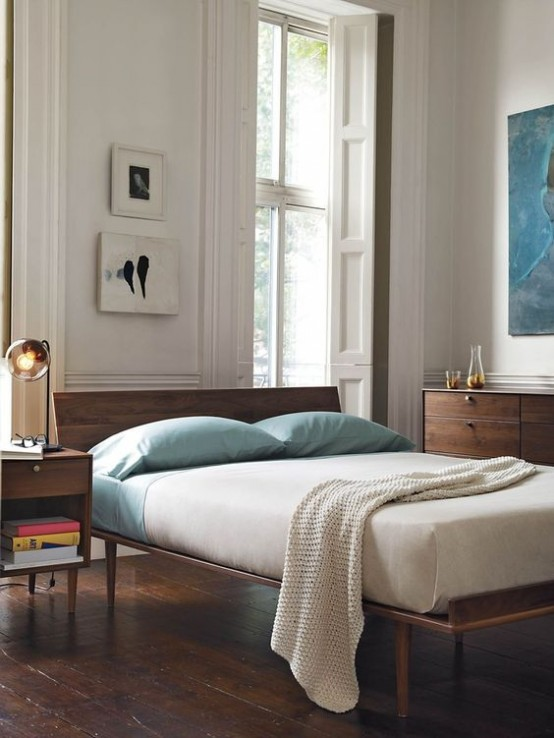 30 Chic And Trendy Mid-Century Modern Bedroom Designs ...