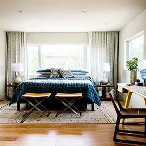 30 chic and trendy mid-century modern bedroom designs - digsdigs