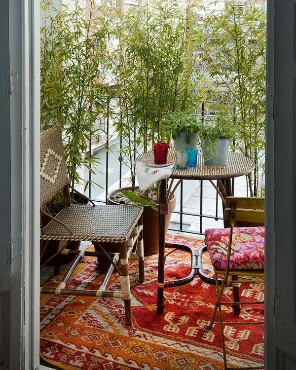 24 Colorful Boho Chic Balcony Decor Ideas Digsdigs
