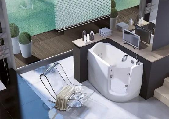 Space Saving Walk In Bathtub Gen X By Treessee DigsDigs