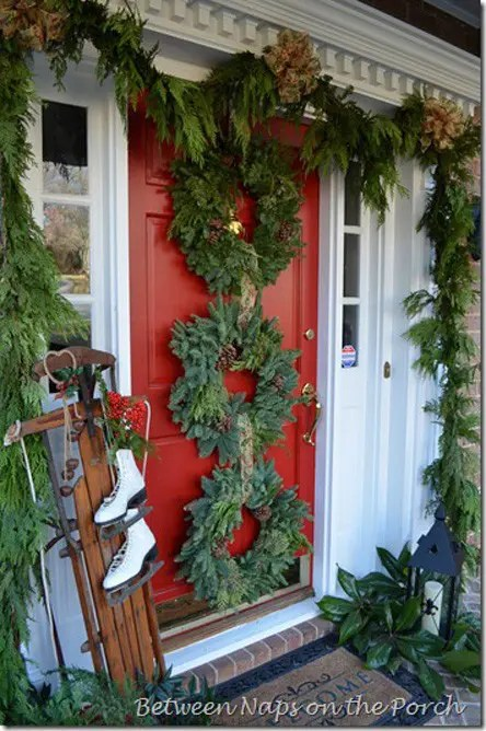 Diy Christmas Porch Ideas 26